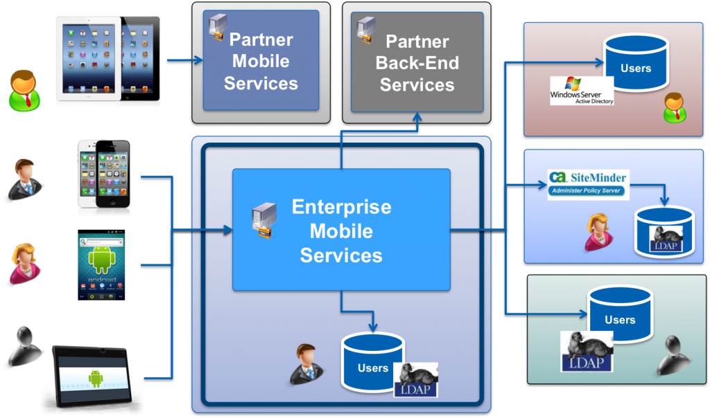 Complexity of Enterprise Mobile Services Environmen